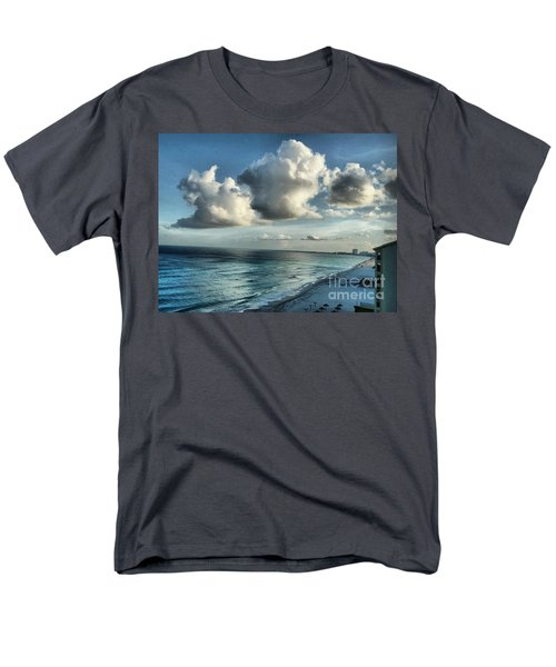 Men's T-Shirt  (Regular Fit) featuring the photograph Amazing Clouds by Polly Peacock