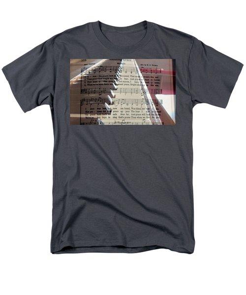 Amazing Grace Men's T-Shirt  (Regular Fit) by Betty Northcutt