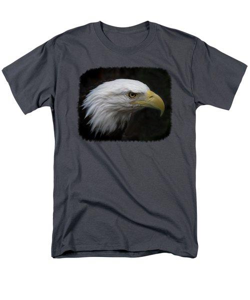 American Bald Eagle Men's T-Shirt  (Regular Fit) by Ernie Echols