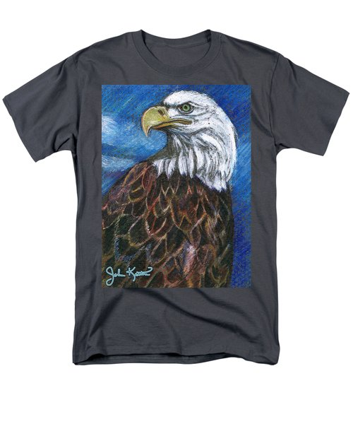 American Bald Eagle Men's T-Shirt  (Regular Fit) by John Keaton