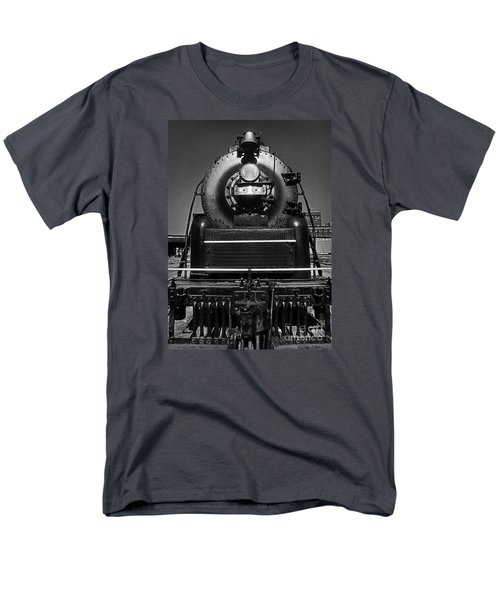 American Freedom Train #1 Men's T-Shirt  (Regular Fit) by Martin Konopacki