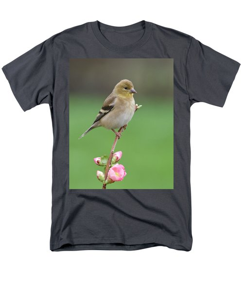 Men's T-Shirt  (Regular Fit) featuring the photograph American Goldfinch by Doug Herr