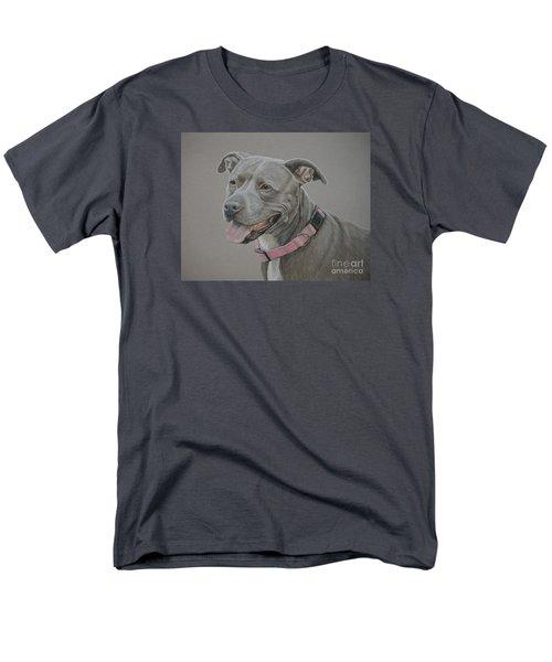 American Staffordshire Terrier Men's T-Shirt  (Regular Fit)