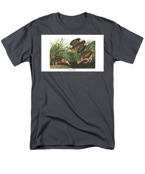 American Woodcock Men's T-Shirt  (Regular Fit) by MotionAge Designs
