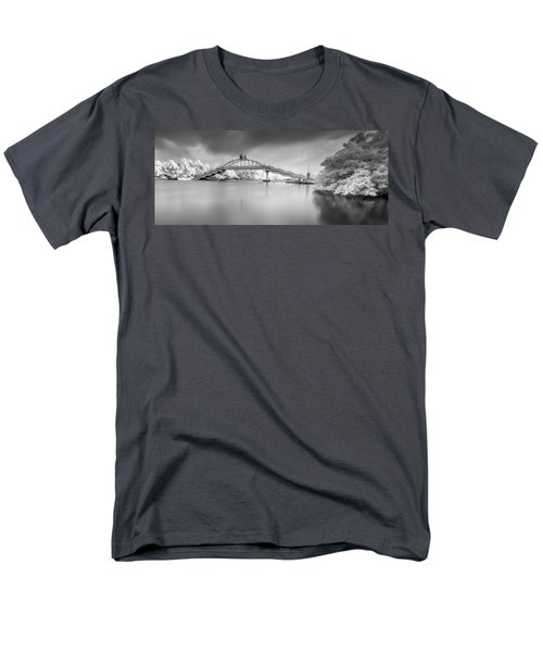 Men's T-Shirt  (Regular Fit) featuring the photograph Amritasetu by Sonny Marcyan