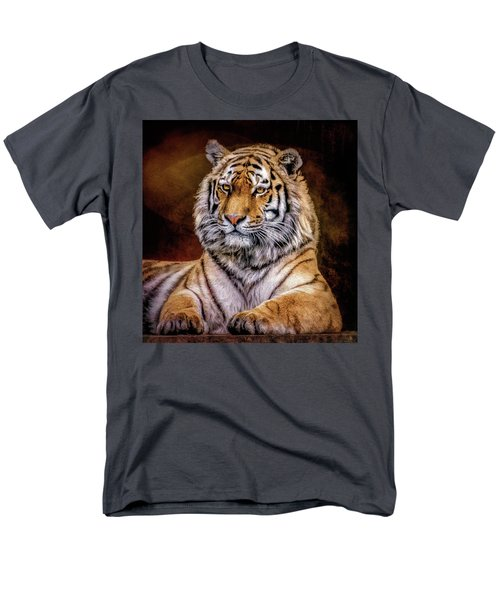 Amur Tiger Men's T-Shirt  (Regular Fit) by Brian Tarr