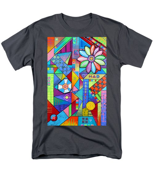 An All Seeing Eye Men's T-Shirt  (Regular Fit) by Jeremy Aiyadurai