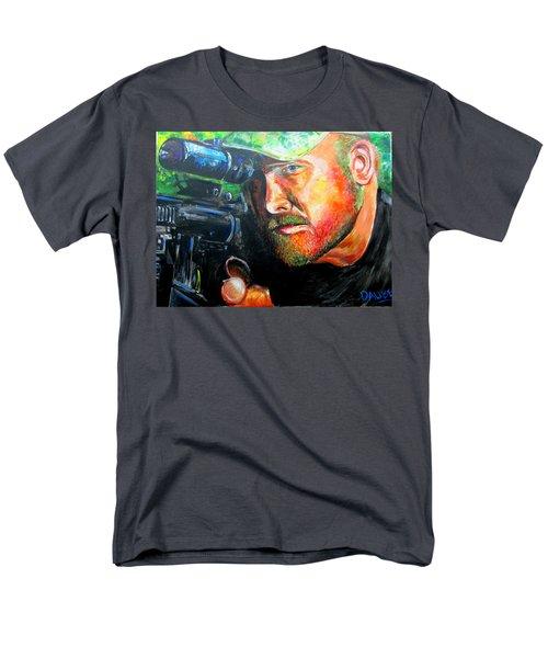 An American Hero Men's T-Shirt  (Regular Fit) by Ken Pridgeon