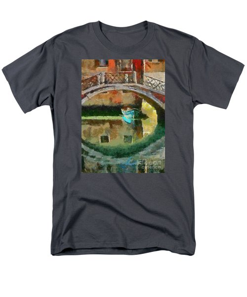 An Early Morning In Venice Men's T-Shirt  (Regular Fit) by Dragica  Micki Fortuna