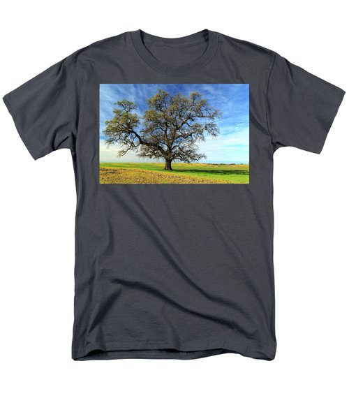 Men's T-Shirt  (Regular Fit) featuring the photograph An Oak In Spring by James Eddy