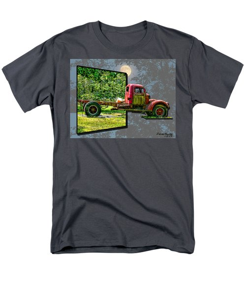 Men's T-Shirt  (Regular Fit) featuring the photograph An Old Relic by EricaMaxine  Price
