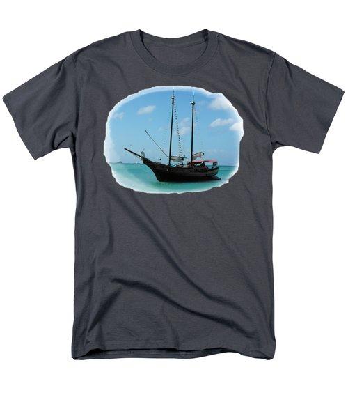 Anchored Men's T-Shirt  (Regular Fit) by David and Lynn Keller
