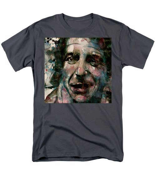 Men's T-Shirt  (Regular Fit) featuring the painting And She Feeds You Tea And Oranges That Come All The Way From China  by Paul Lovering