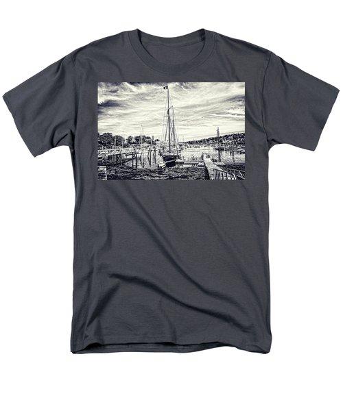 Men's T-Shirt  (Regular Fit) featuring the digital art Angelique Resting At Home by Daniel Hebard