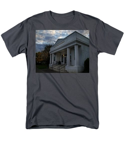 Anne G Basker Auditorium In Grants Pass Men's T-Shirt  (Regular Fit) by Mick Anderson