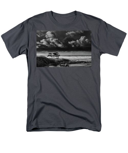 Men's T-Shirt  (Regular Fit) featuring the photograph Another Day At Kalaloch Beach by Dan Mihai