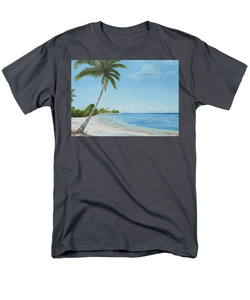 Another Day In Paradise Men's T-Shirt  (Regular Fit) by Lloyd Dobson
