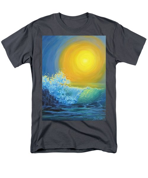 Men's T-Shirt  (Regular Fit) featuring the painting Another Sun by Karen Ilari