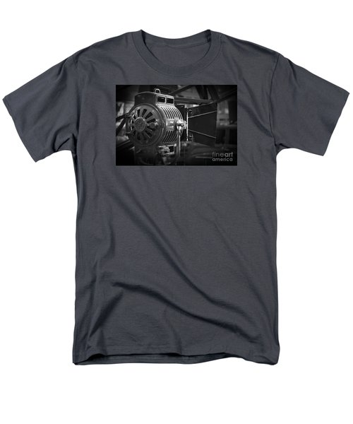 Antique Movie Lamp Men's T-Shirt  (Regular Fit) by Roger Lighterness