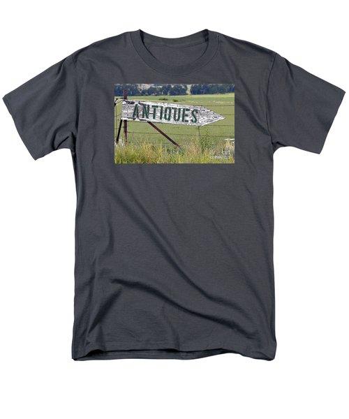 Men's T-Shirt  (Regular Fit) featuring the photograph Antiques  by Juls Adams
