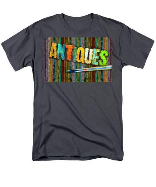Men's T-Shirt  (Regular Fit) featuring the photograph Antiques by Paul Wear