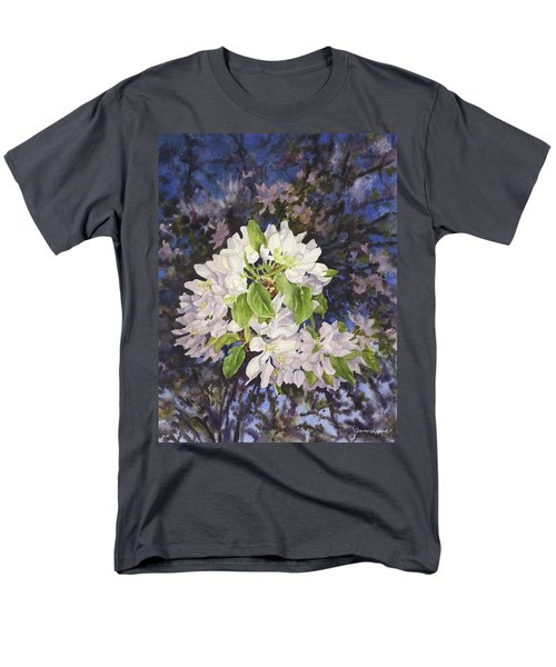 Apple Blossoms At Dusk Men's T-Shirt  (Regular Fit) by Anne Gifford