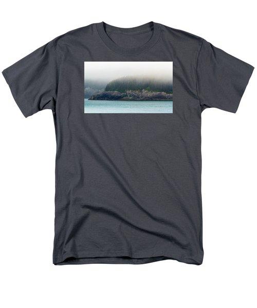 Approaching Glacier Bay Alaska Men's T-Shirt  (Regular Fit) by Allan Levin