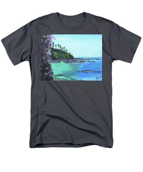 Aqua Passage Men's T-Shirt  (Regular Fit) by Judy Via-Wolff