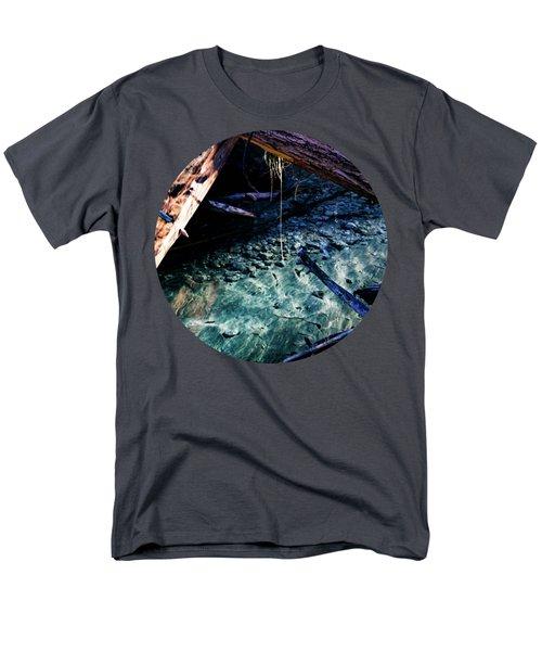 Aquamarine Men's T-Shirt  (Regular Fit) by Adam Morsa