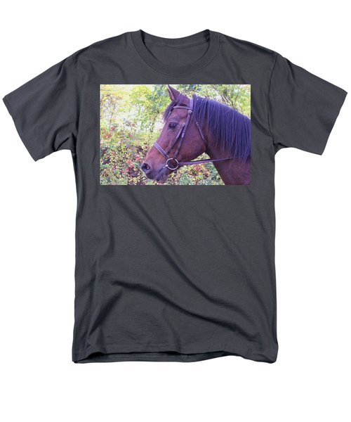 Men's T-Shirt  (Regular Fit) featuring the digital art Arabian Beauty by Barbara S Nickerson