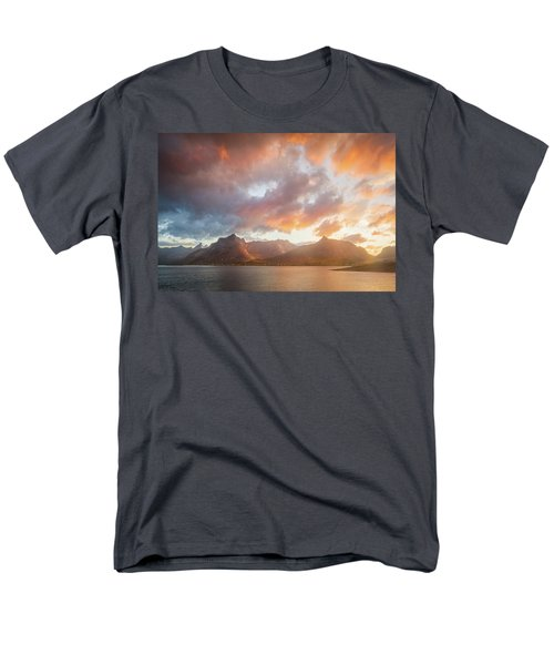Men's T-Shirt  (Regular Fit) featuring the photograph Arctic Susnset by Maciej Markiewicz