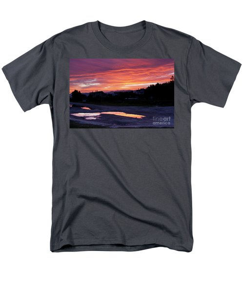 Men's T-Shirt  (Regular Fit) featuring the photograph Ardore, Calabria Town by Bruno Spagnolo