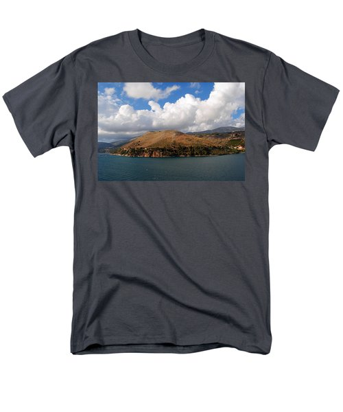 Men's T-Shirt  (Regular Fit) featuring the photograph Argostoli Greece by Robert Moss