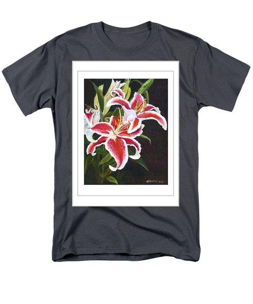 Art Card - Lilli's Stargazers Men's T-Shirt  (Regular Fit) by Harriett Masterson