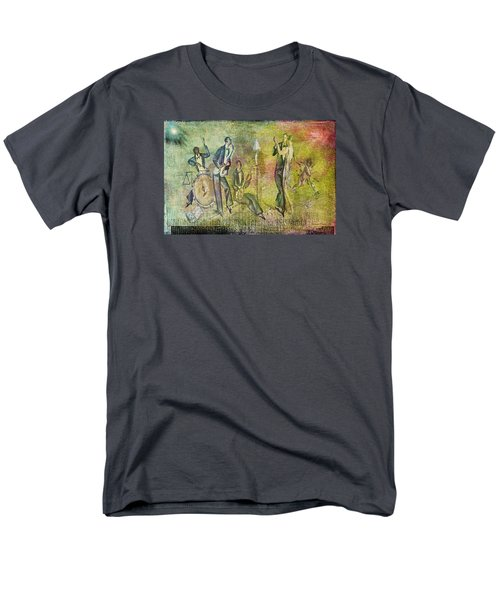 Art Deco Dancing Men's T-Shirt  (Regular Fit) by Bellesouth Studio