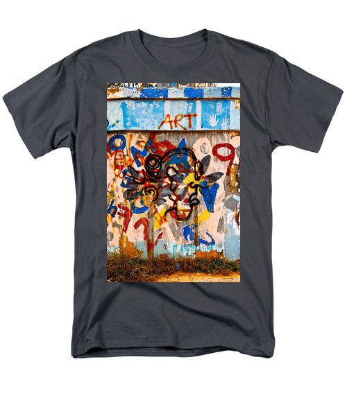 Men's T-Shirt  (Regular Fit) featuring the photograph ART by Harry Spitz