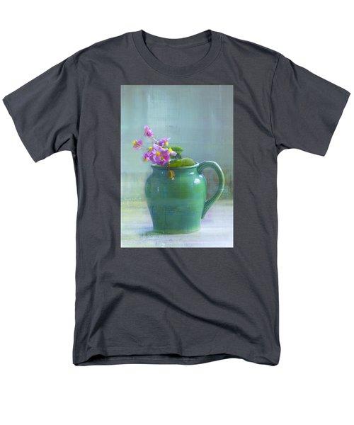 Men's T-Shirt  (Regular Fit) featuring the photograph Art Of Begonia by John Rivera