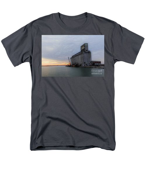 Men's T-Shirt  (Regular Fit) featuring the photograph Artistic Sunset by Jim Lepard