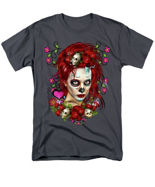 Sugar Doll Red Men's T-Shirt  (Regular Fit) by Shanina Conway