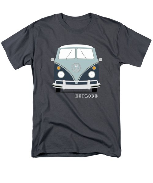 Vw Bus Blue Men's T-Shirt  (Regular Fit)