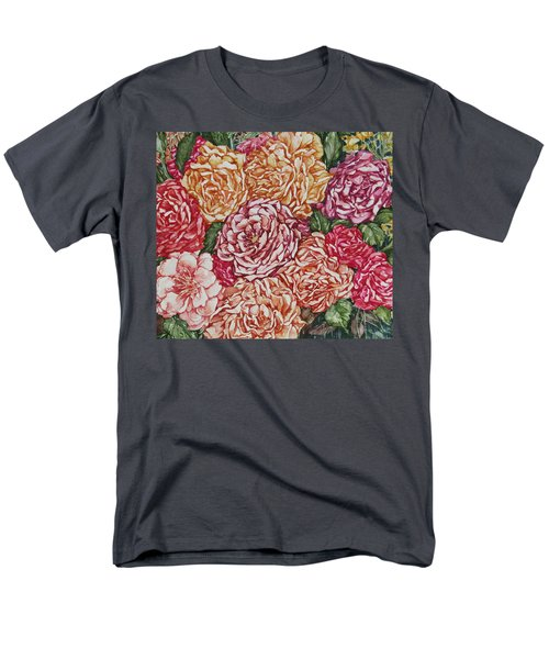 Flowers And Fruit Arrangement Men's T-Shirt  (Regular Fit) by Kim Tran