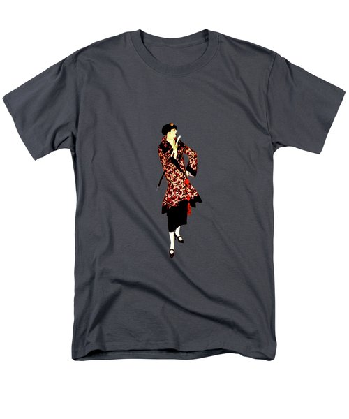 Men's T-Shirt  (Regular Fit) featuring the digital art La Robe  by Asok Mukhopadhyay