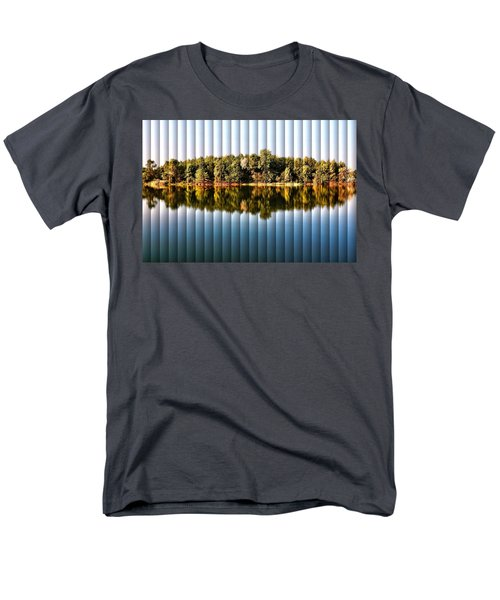 When Nature Reflects - The Slat Collection Men's T-Shirt  (Regular Fit) by Bill Kesler