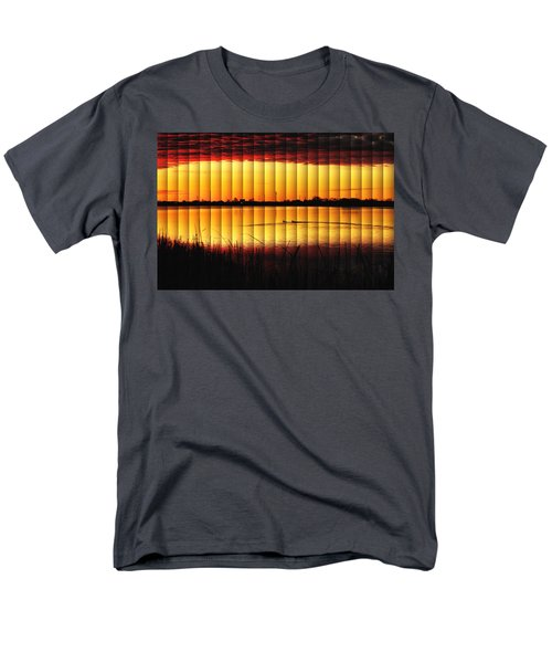 Magnificent Sunrise Swim Men's T-Shirt  (Regular Fit) by Bill Kesler