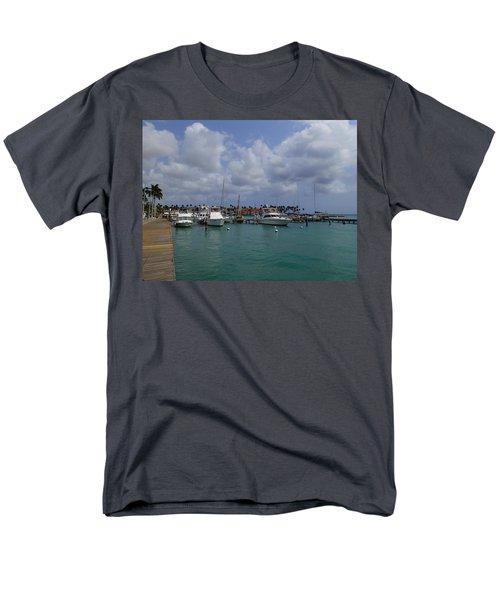 Aruba Marina Men's T-Shirt  (Regular Fit)
