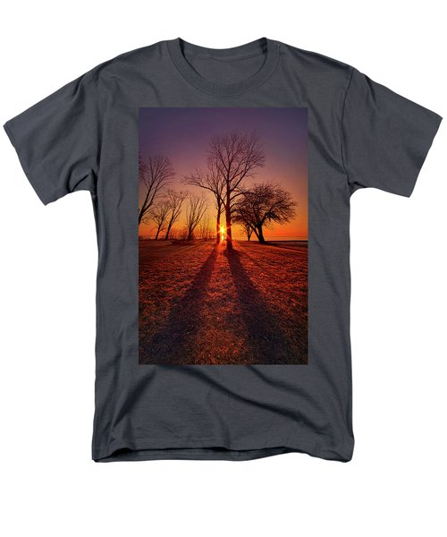 Men's T-Shirt  (Regular Fit) featuring the photograph As Sure As The Sun Will Rise by Phil Koch