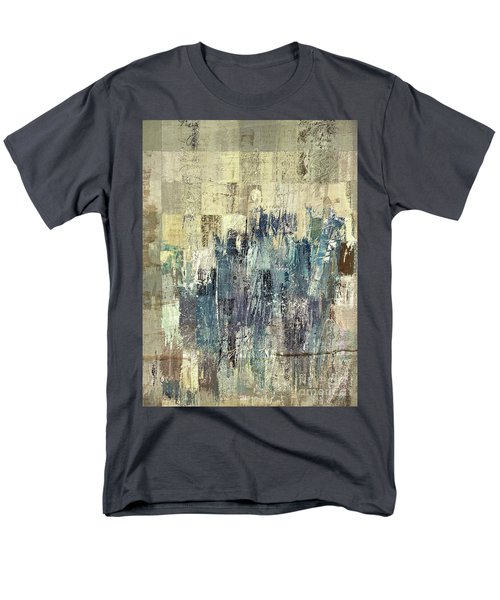 Men's T-Shirt  (Regular Fit) featuring the painting Ascension - C03xt-159at2b by Variance Collections