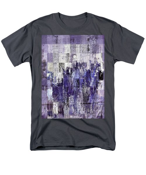 Men's T-Shirt  (Regular Fit) featuring the painting Ascension - C03xt-166at2c by Variance Collections