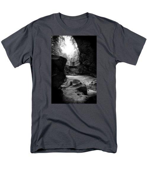 Men's T-Shirt  (Regular Fit) featuring the photograph Ash Cave Hocking Hills by Alan Raasch