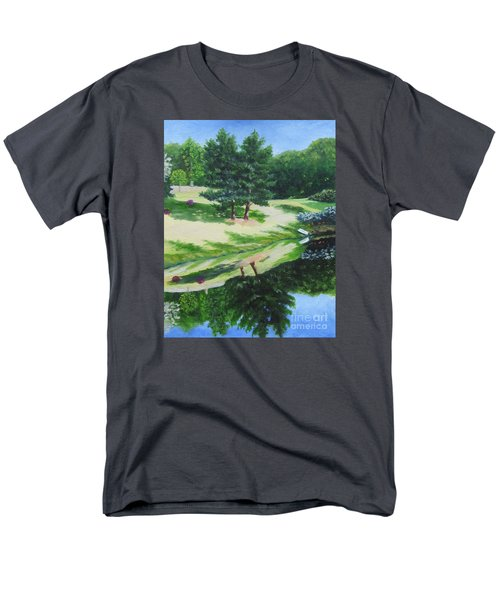 Asheville Reflections Men's T-Shirt  (Regular Fit) by Anne Marie Brown
